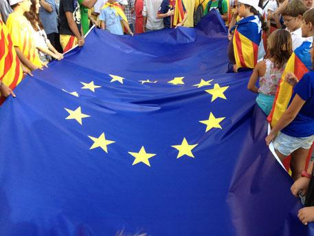 bandera_europea_manifestacio